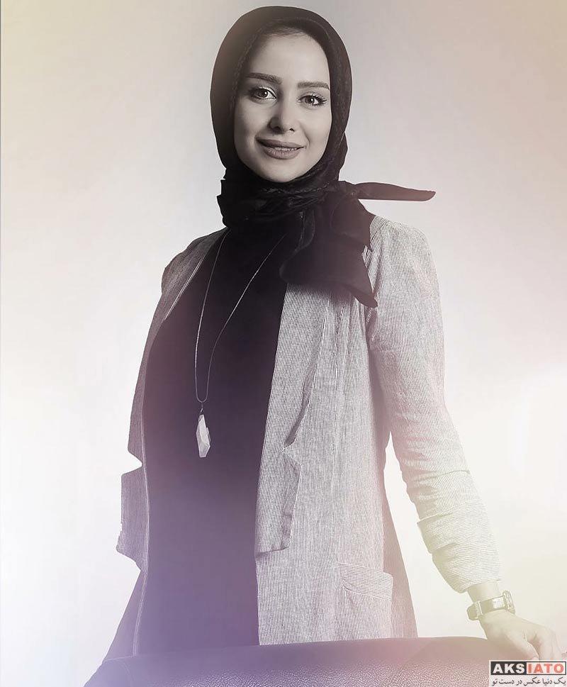 بازیگران بازیگران زن ایرانی  عکس های الناز حبیبی در مردادماه ۹۶ (8 تصویر)
