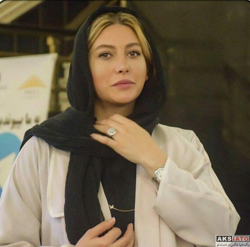 بازیگران بازیگران زن ایرانی  فریبا نادری در برنامه صبح خلیج فارس (4 عکس)