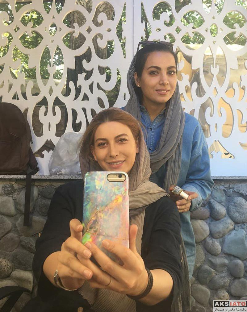 بازیگران بازیگران زن ایرانی  فریبا نادری در مردادماه ۹۶ (8 عکس)