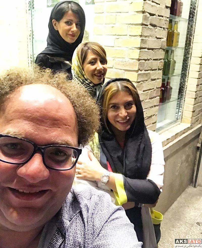 بازیگران بازیگران زن ایرانی  مستر تیستر معروف در رستوران فریبا نادری (3 عکس)