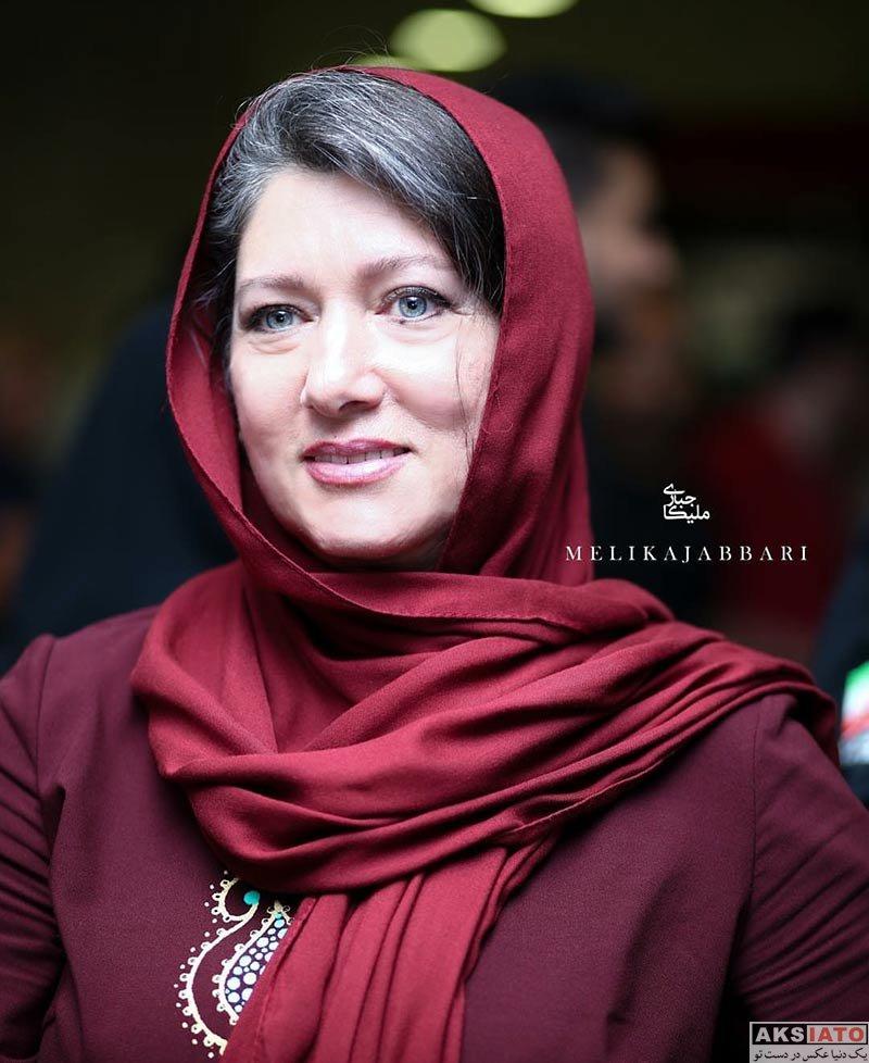 بازیگران بازیگران زن ایرانی  فریبا متخصص و رویا نونهالی در اکران قسمت هفتم سریال شهرزاد