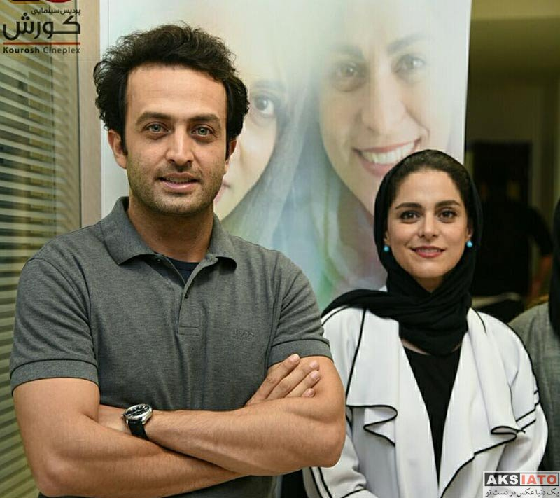 بازیگران بازیگران زن ایرانی  غزل شاکری در اکران مردمی فیلم «سارا و آیدا» (4 عکس)