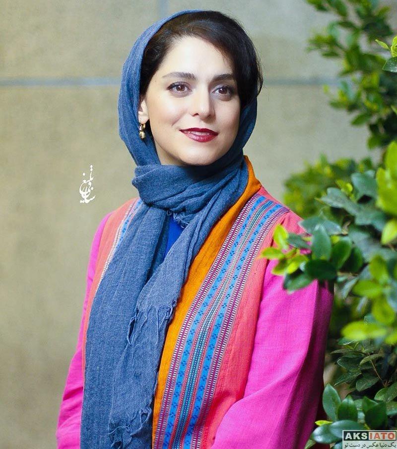 بازیگران بازیگران زن ایرانی  غزل شاکری در اکران مردمی فیلم «سارا و آیدا» (5 عکس)