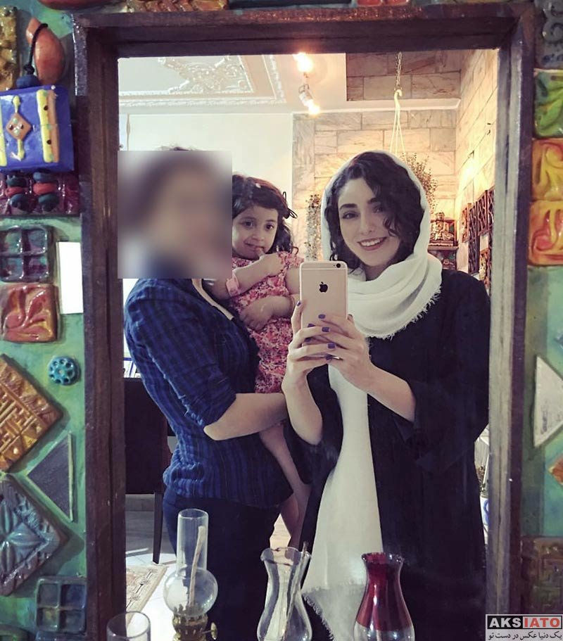 بازیگران بازیگران زن ایرانی  عکس های هستی مهدوی فر در مردادماه ۹۶ (4 تصویر)