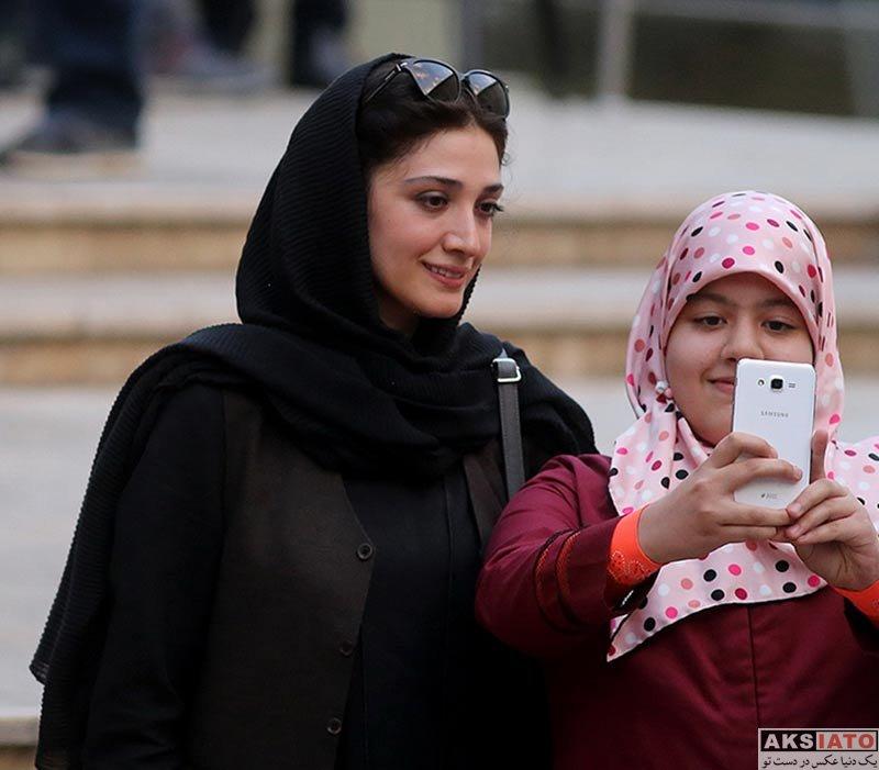بازیگران بازیگران زن ایرانی جشن منتقدان و نویسندگان  مینا ساداتی در یازدهمین جشن منتقدان و نویسندگان سینمای ایران