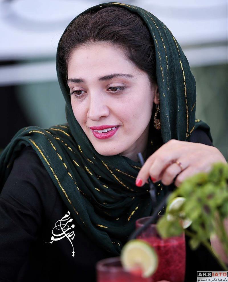 بازیگران بازیگران زن ایرانی  مینا ساداتی در مراسم رونمایی از پوستر فیلم تابستان داغ (3 عکس)