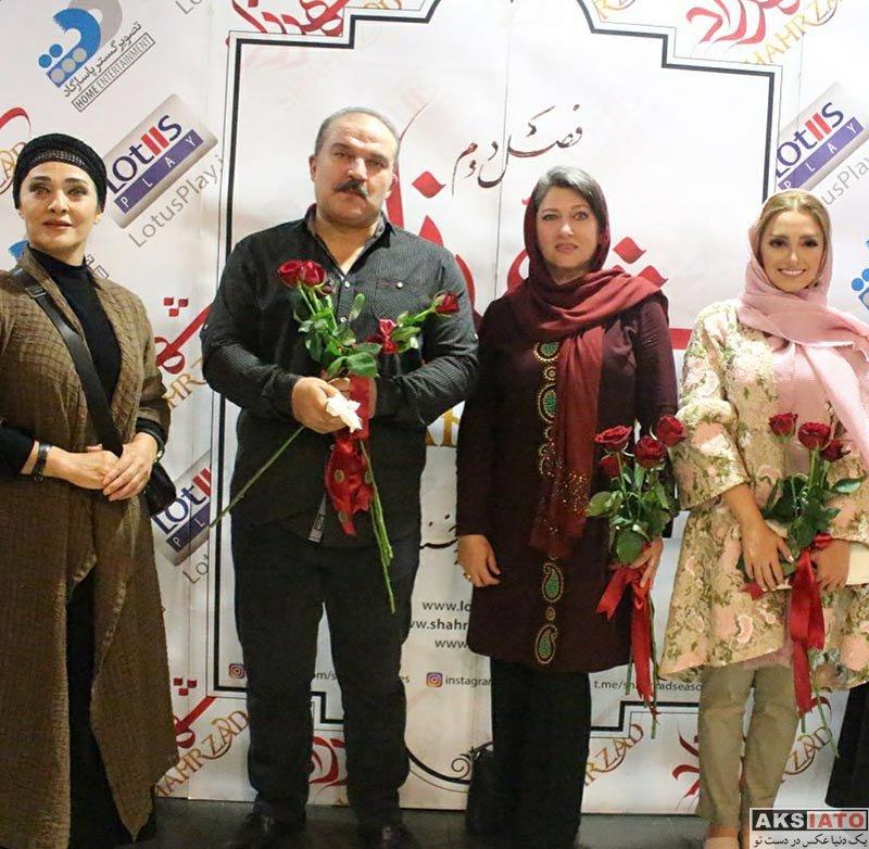 بازیگران بازیگران زن ایرانی  نهال دشتی در اكران قسمت هفتم سريال شهرزاد (3 عکس)