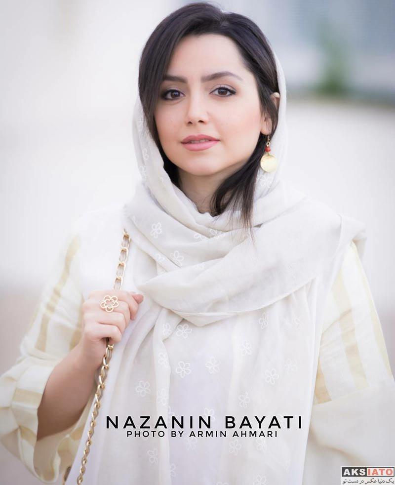 بازیگران بازیگران زن ایرانی  نازنین بیاتی در اکران ویژه فیلم فصل نرگس (4 عکس)