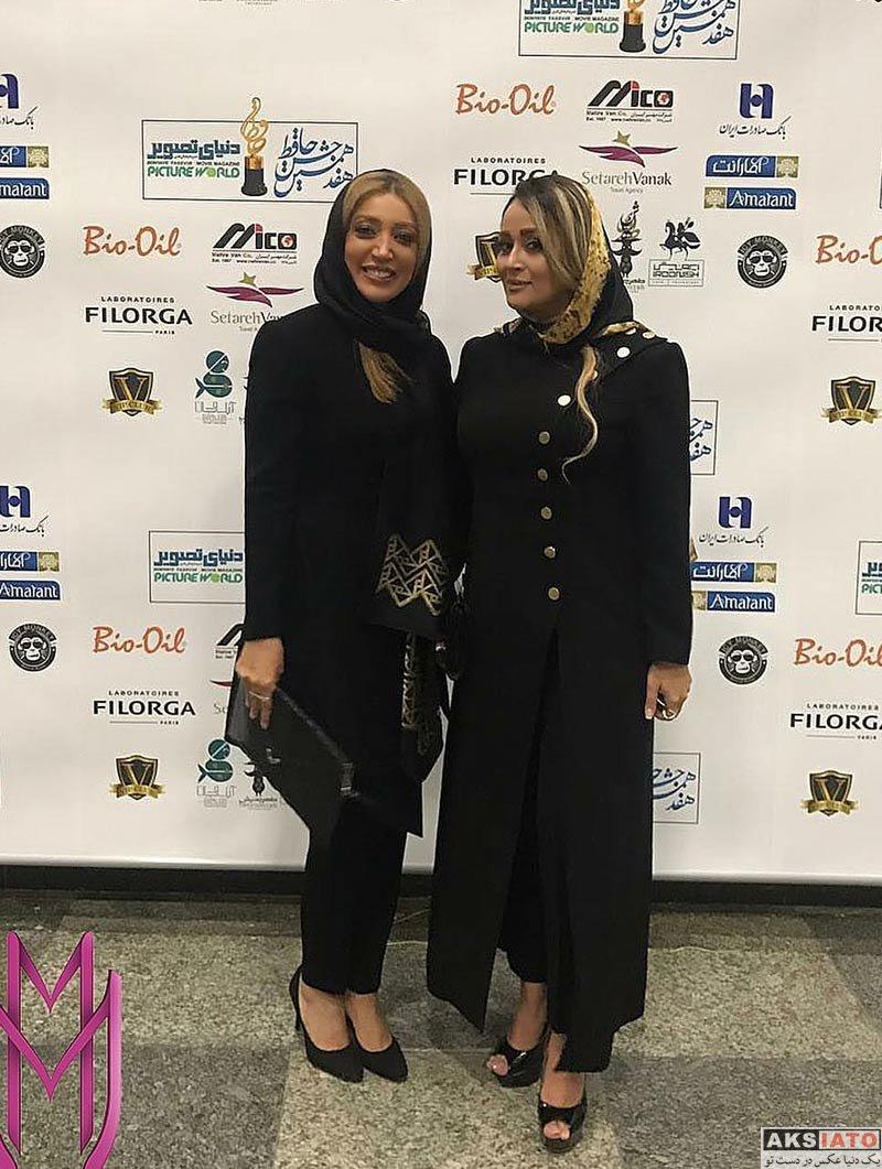 بازیگران بازیگران زن ایرانی جشن حافظ  نگار عابدی در هفدهمین جشن حافظ (2 عکس)