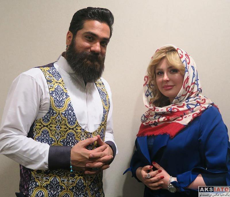 بازیگران بازیگران زن ایرانی  نیوشا ضیغمی در کنسرت علی زند وکیلی (4 عکس)
