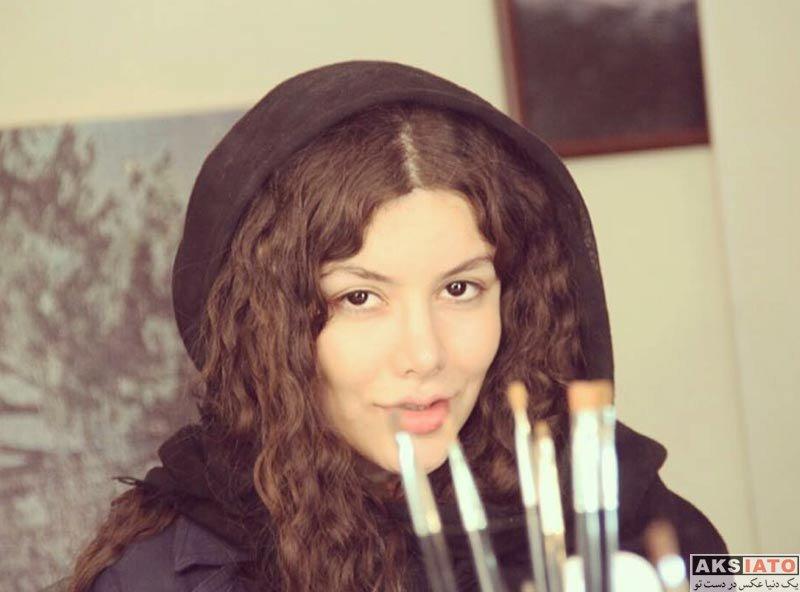بازیگران بازیگران زن ایرانی  نیکی محرابی بازیگر جوان سریال گسل (7 عکس)