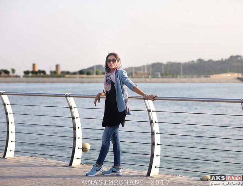 بازیگران بازیگران زن ایرانی  نیکی مظفری در جشن تولد امید معلم (5 عکس)