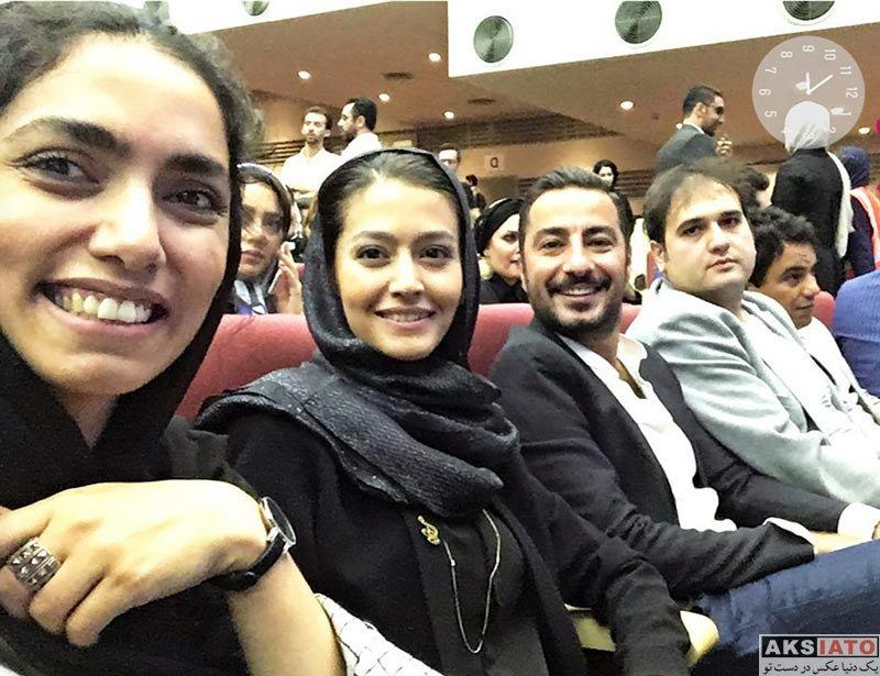 بازیگران بازیگران زن ایرانی جشن حافظ  پردیس احمدیه و آزاده سدیری در هفدهمین جشن حافظ 96