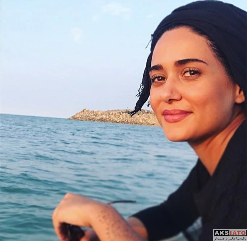 بازیگران بازیگران زن ایرانی  عکس های پریناز ایزدیار در مردادماه ۹۶ (4 تصویر)