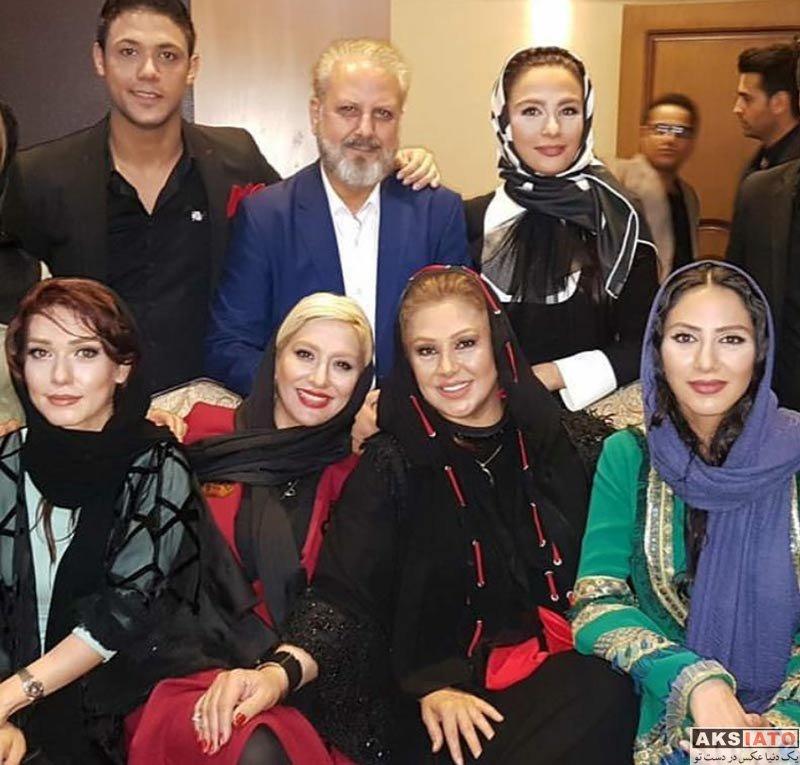 بازیگران بازیگران زن ایرانی جشن حافظ  ساغر عزیزی در هفدهمین جشن حافظ (2 عکس)