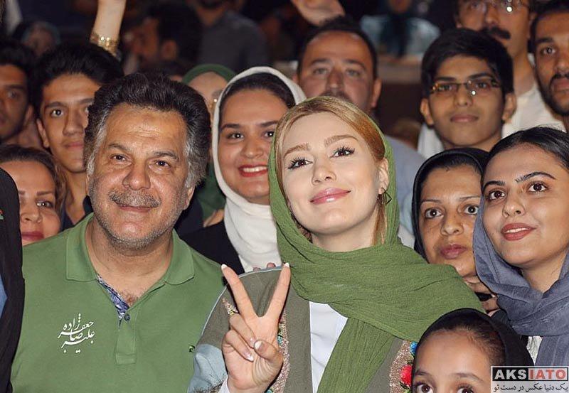 بازیگران بازیگران زن ایرانی سحر قریشی در اکران فیلم «پا تو کفش نکن» در مشهد (5 عکس)