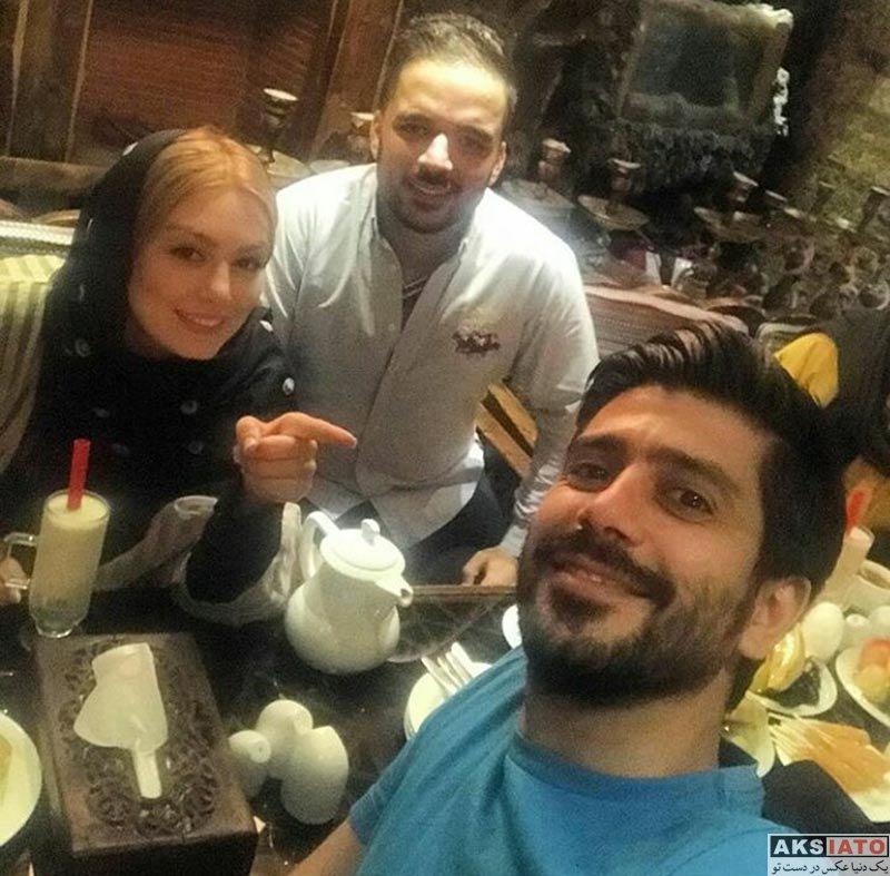 بازیگران زن ایرانی خانوادگی  جشن تولد سپهر قریشی برادر سحر قریشی (6 عکس)