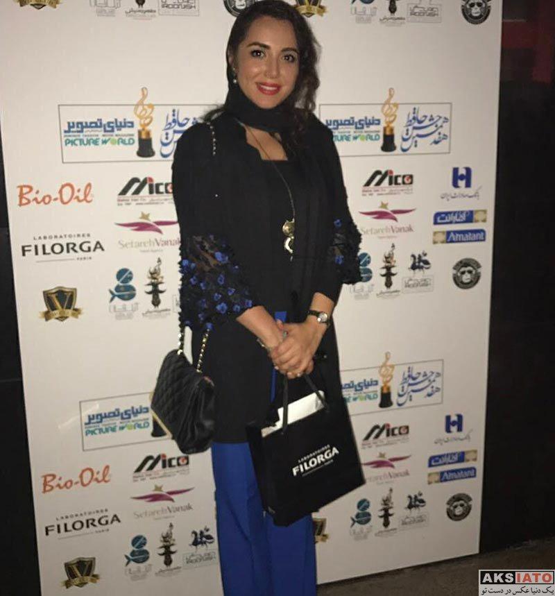 بازیگران زن ایرانی جشن حافظ  سپیده مرادپور در هفدهمین جشن حافظ (3 عکس)