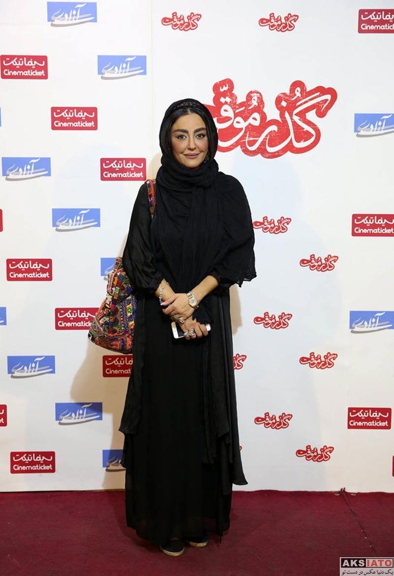 بازیگران بازیگران زن ایرانی  شقایق فراهانی در اکران مردمی فیلم «گذر موقت» (۴ عکس)