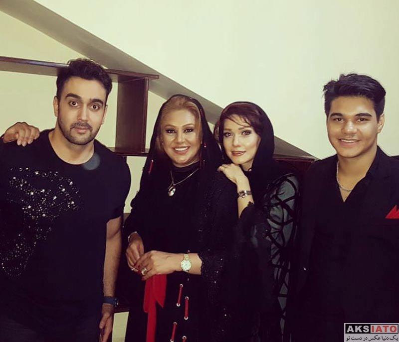 بازیگران زن ایرانی جشن حافظ  شهرزاد کمال زاده در هفدهمین جشن حافظ (3 عکس)