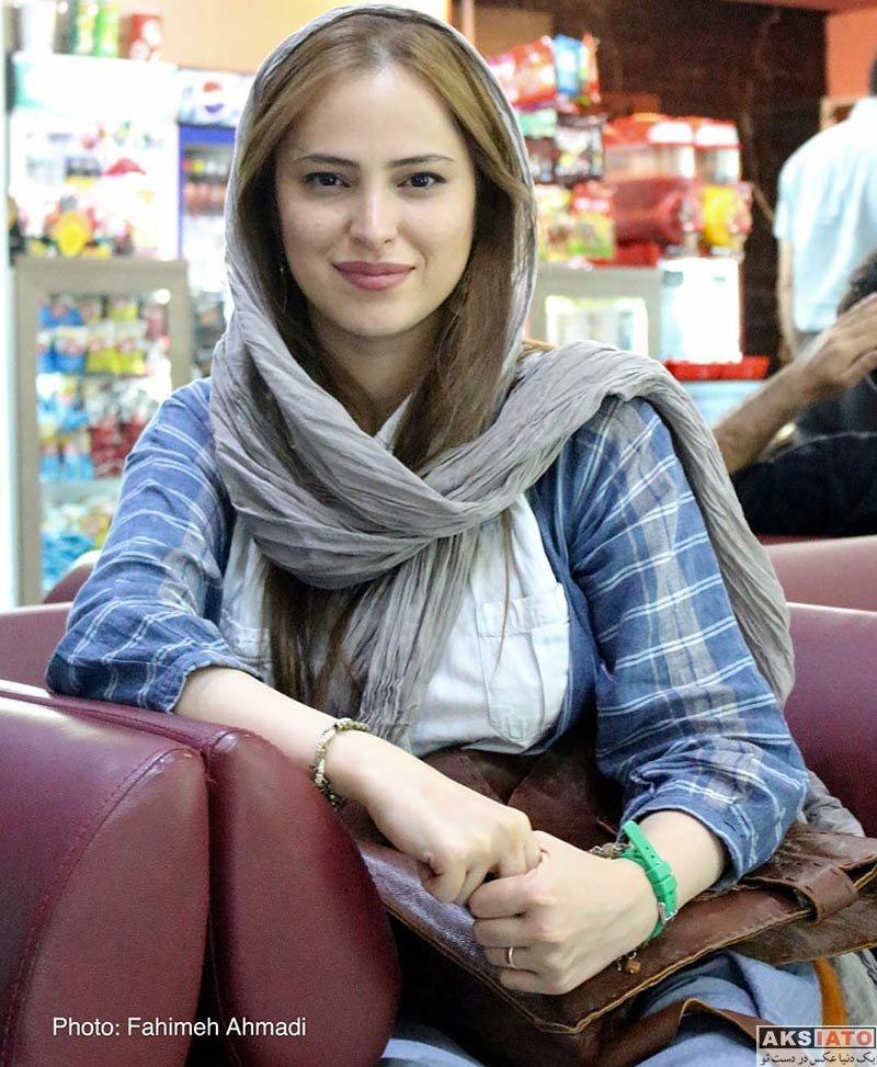 بازیگران بازیگران زن ایرانی  شیرین اسماعیلی در اکران فیلم فصل نرگس در سینما آزادی (4 عکس)