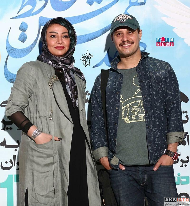 جشن حافظ خانوادگی  بازیگران و همسرانشان در مراسم اهدای جوایز برگزیدگان جشن حافظ