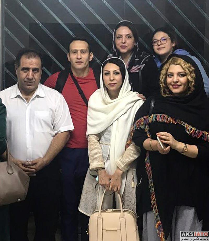 بازیگران بازیگران زن ایرانی  گلنار بایبوردی در مسابقه فوتبال ستارگان هنر (3 عکس)