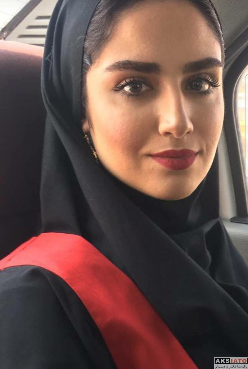 بازیگران بازیگران زن ایرانی  عکس های فارغ التحصیلی هانیه غلامی (3 عکس)