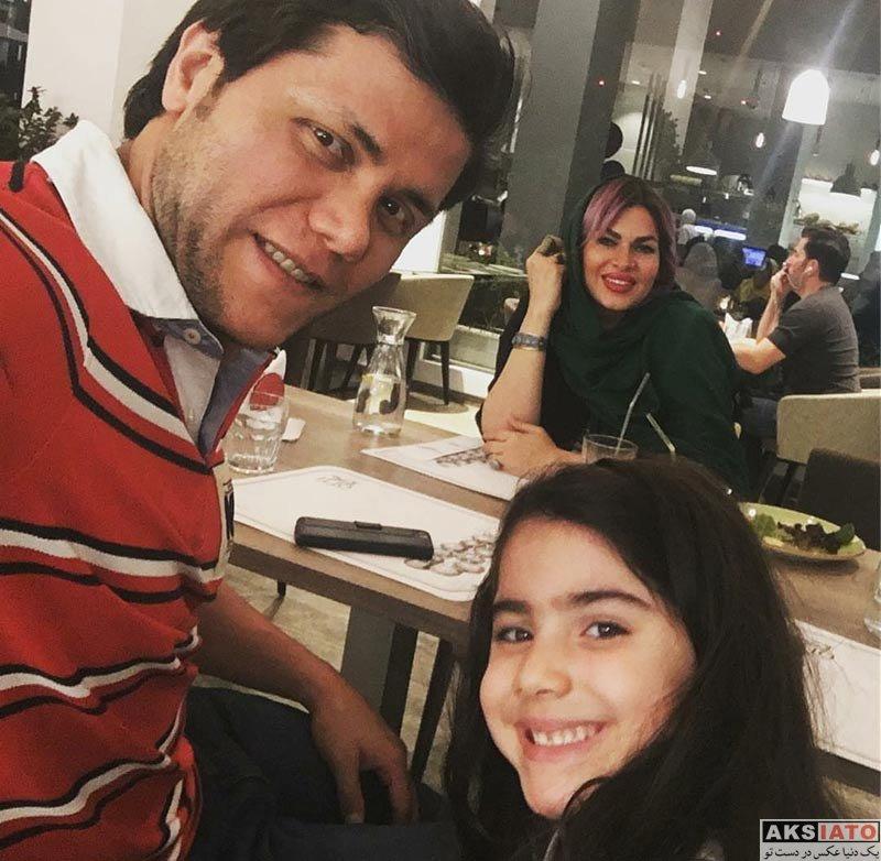 خانوادگی  عکس های مهدی مهدوی و همسرش در مرداد 96 (3 تصویر)