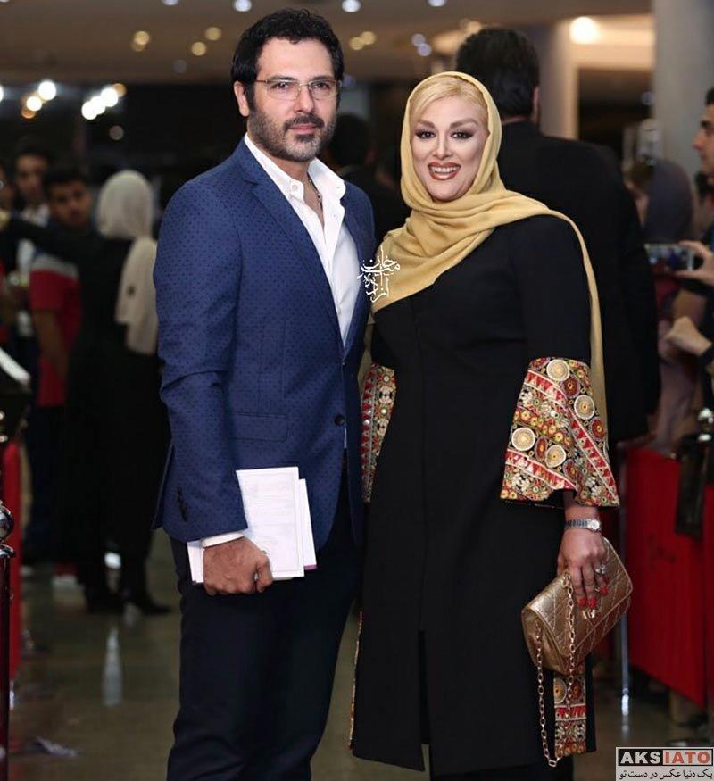 جشن حافظ خانوادگی  کوروش تهامی و همسرش در هفدهمین جشن حافظ ۹۶