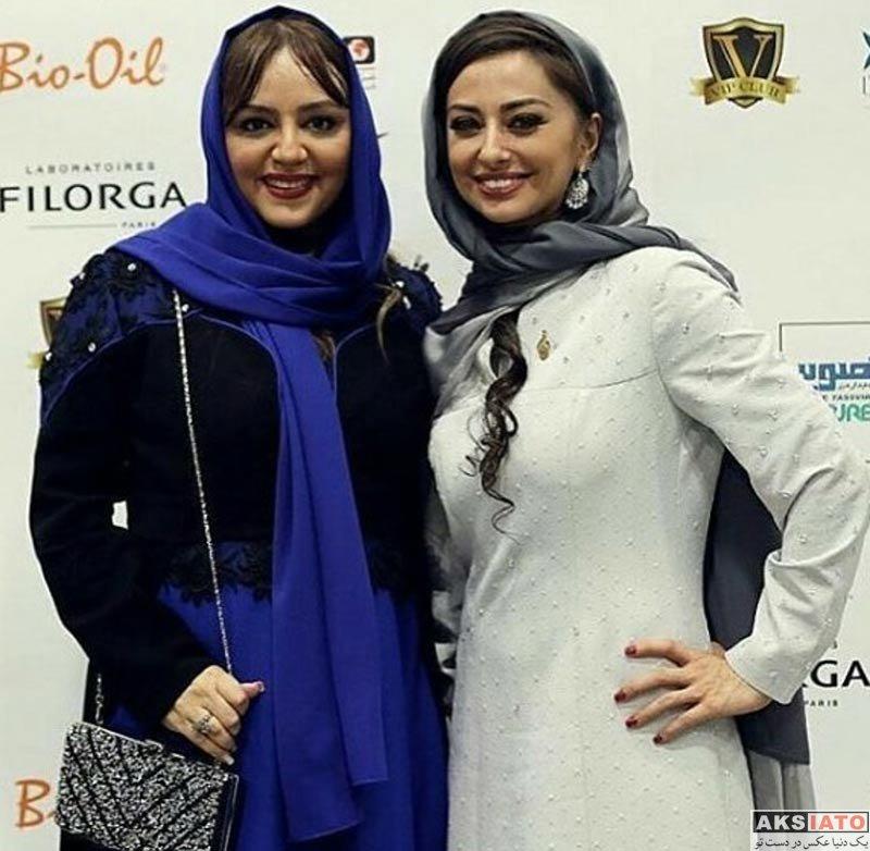 بازیگران زن ایرانی جشن حافظ  لیلا برخورداری در هفدهمین جشن حافظ ۹۶