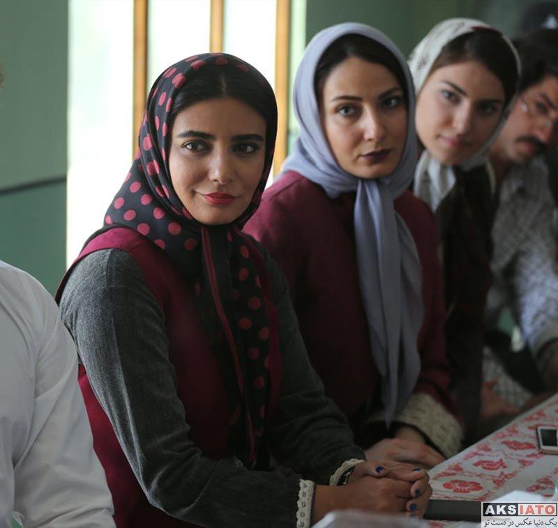 بازیگران بازیگران زن ایرانی  لیندا کیانی در سریال جدید پاهای بیقرار (4 عکس)