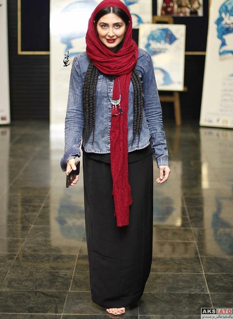 بازیگران بازیگران زن ایرانی  مریم معصومی در بک استیج نمایش چلچلا (4 عکس)