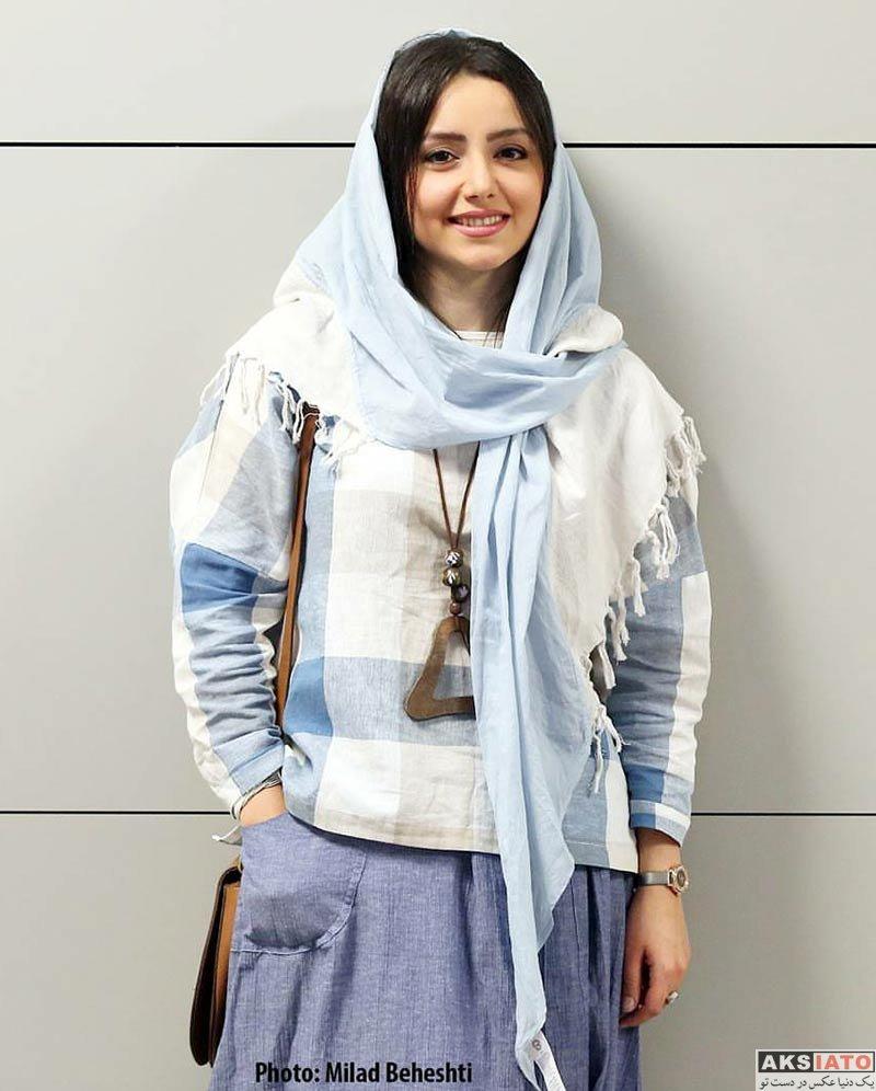 بازیگران بازیگران زن ایرانی  نازنین بیاتی در روز اول جشنواره فیلم سلامت (5 عکس)