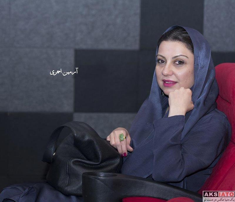 بازیگران بازیگران زن ایرانی  نگار آذربایجانی در اکران ویژه فیلم فصل نرگس (3 عکس)