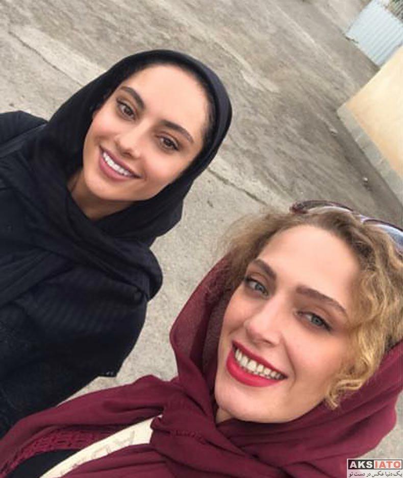 بازیگران بازیگران زن ایرانی  نگین معتضدی و ترلان در سریال جدید شبکه دو (3 عکس)