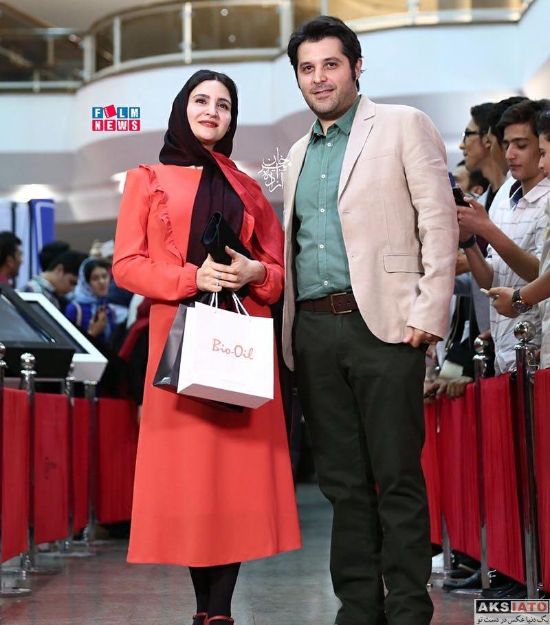 جشن حافظ خانوادگی  نورا هاشمی و همسرش در هفدهمین جشن حافظ ۹۶