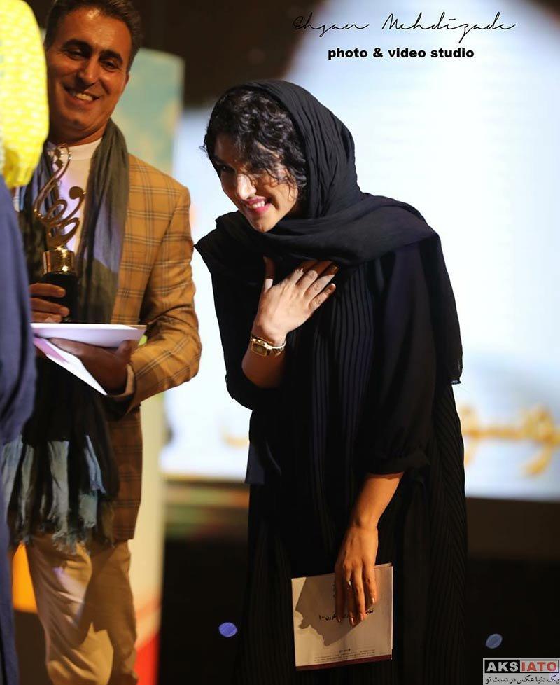 بازیگران زن ایرانی جشن حافظ  سارا رسول زاده در هفدهمین جشن حافظ (4 عکس)