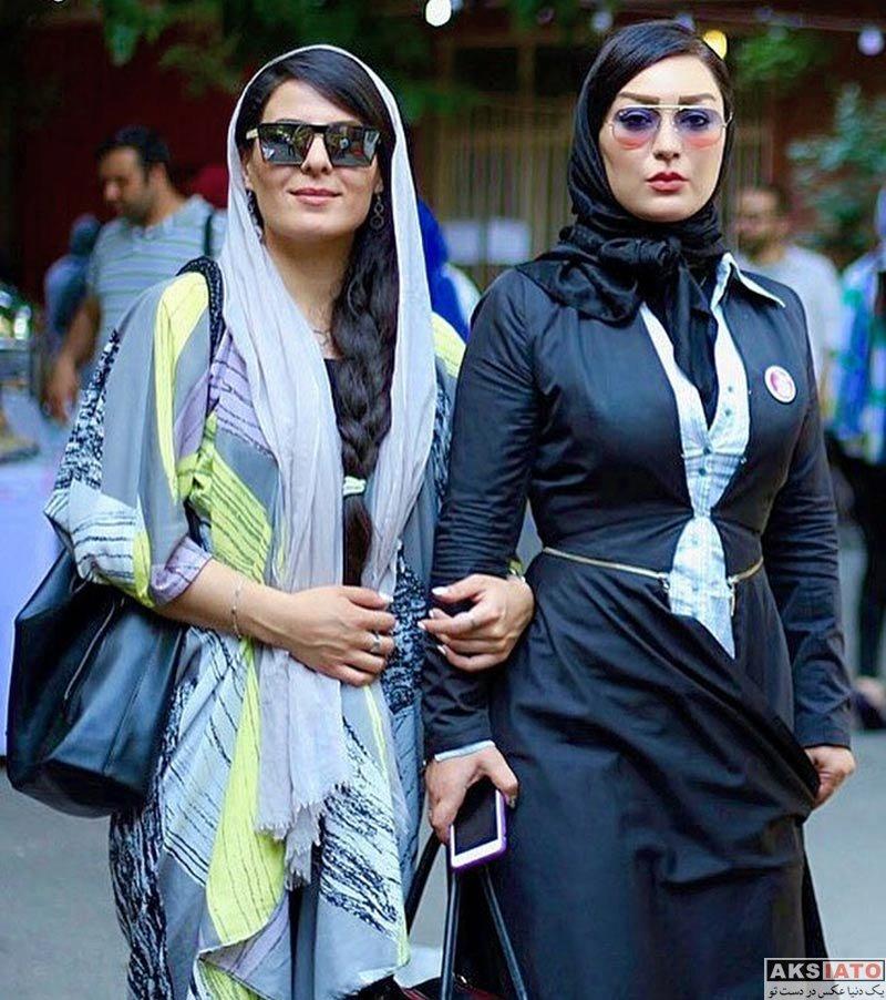 بازیگران بازیگران زن ایرانی  شقایق دلشاد و دوستانش در خیریه نرگس (3 عکس)