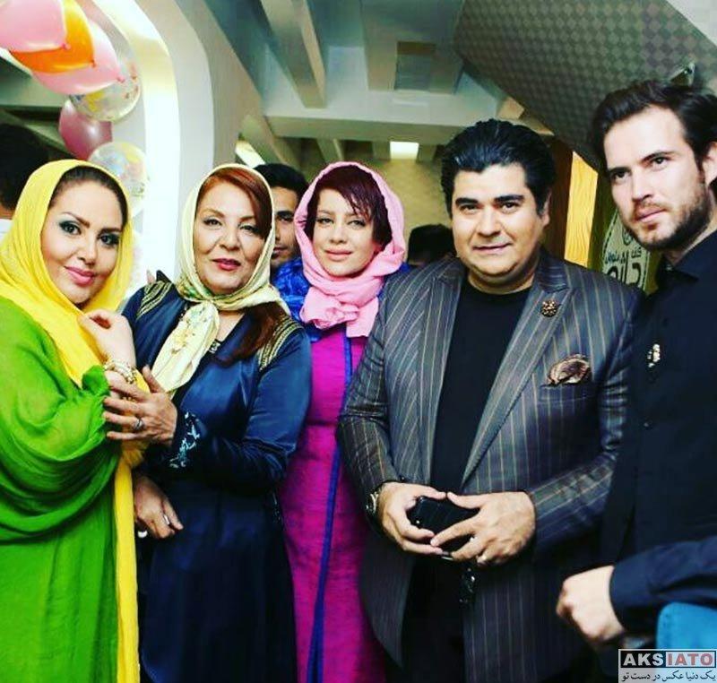 بازیگران بازیگران زن ایرانی جشن تولد ها  جشن تولد شراره رخام با حضور هنرمندان (5 عکس)
