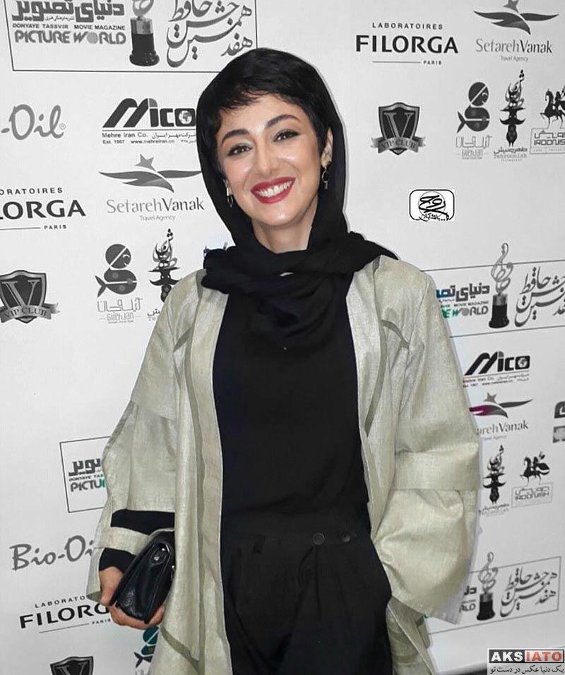 بازیگران زن ایرانی جشن حافظ  ویدا جوان در هفدهمین جشن حافظ 96