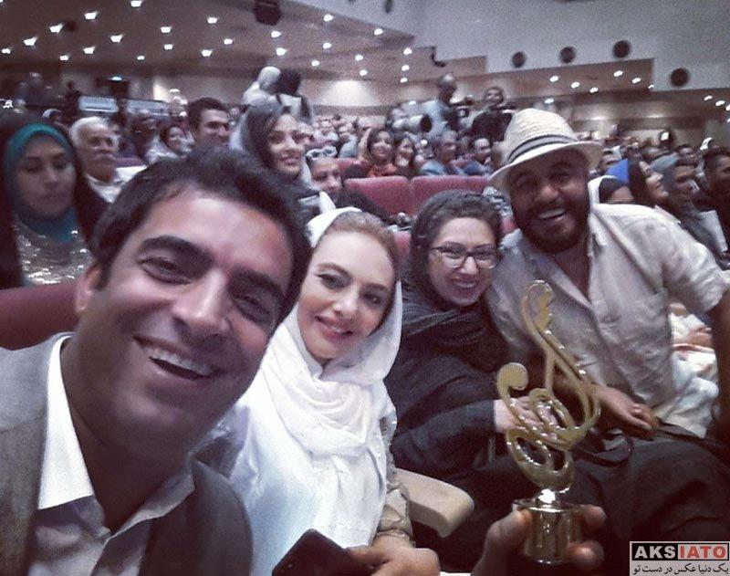 جشن حافظ خانوادگی  یکتا ناصر و همسرش در هفدهمین جشن حافظ (3 عکس)
