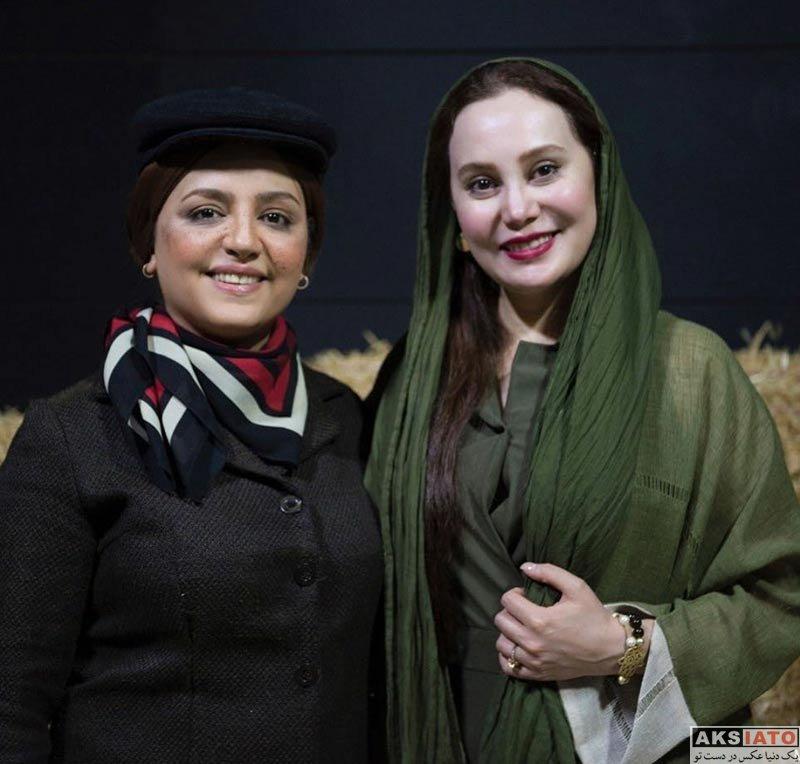 بازیگران بازیگران زن ایرانی  آرام جعفری در اجرای نمایش صبح یه روز لعنتی (3 عکس)