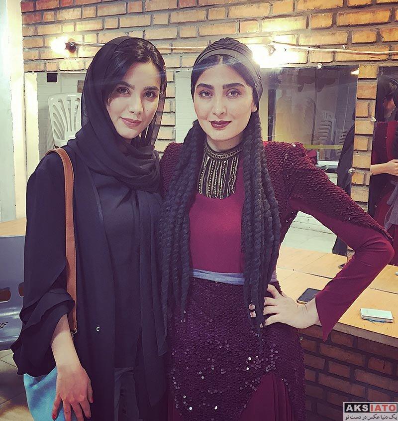 بازیگران بازیگران زن ایرانی  بیتا بیگی در اجرای نمایش چلچلا در تالار وحدت (۳ عکس)
