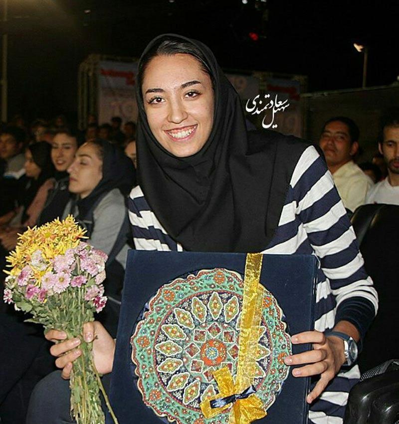 ورزشکاران ورزشکاران زن  کیمیا علیزاده در همایش روز ملی تکواندو (4 عکس)
