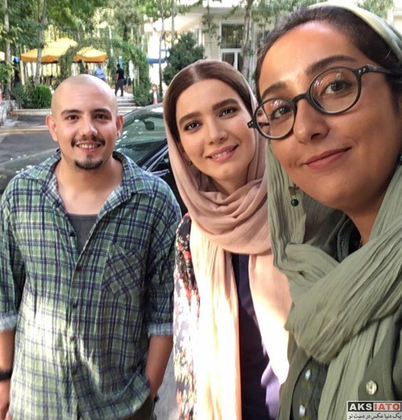 بازیگران بازیگران زن ایرانی  عکس های متین ستوده در شهریورماه 96 (6 تصویر)