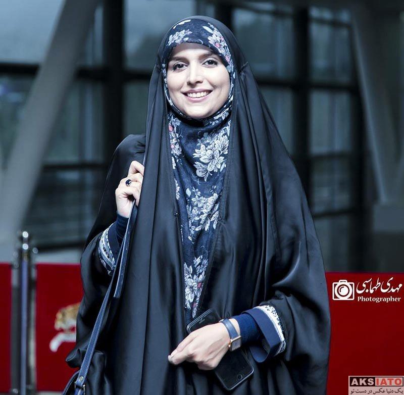 بازیگران مجریان  مژده لواسانی در اکران مردمی فیلم رگ خواب (3 عکس)