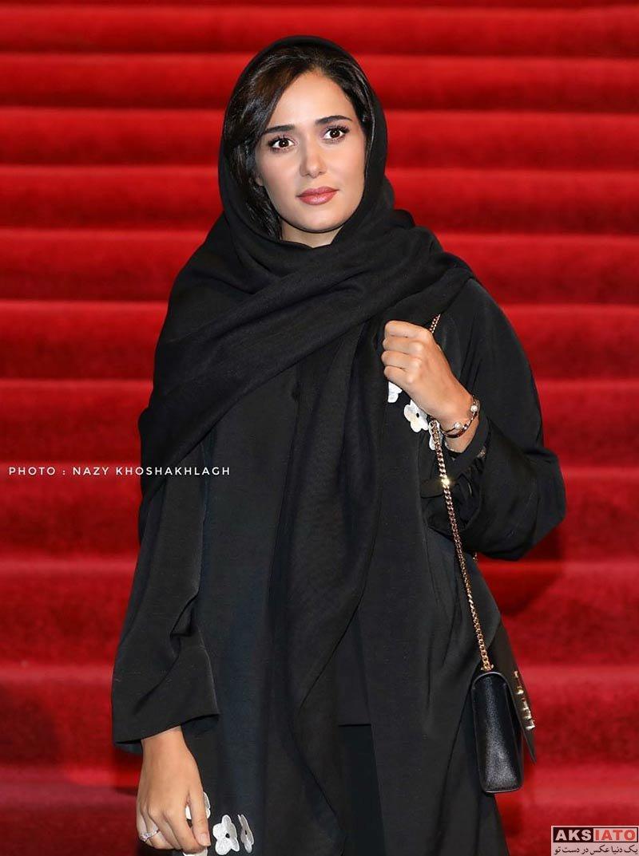 بازیگران بازیگران زن ایرانی  پریناز ایزدیار در اکران خصوصی فیلم تابستان داغ (6 عکس)