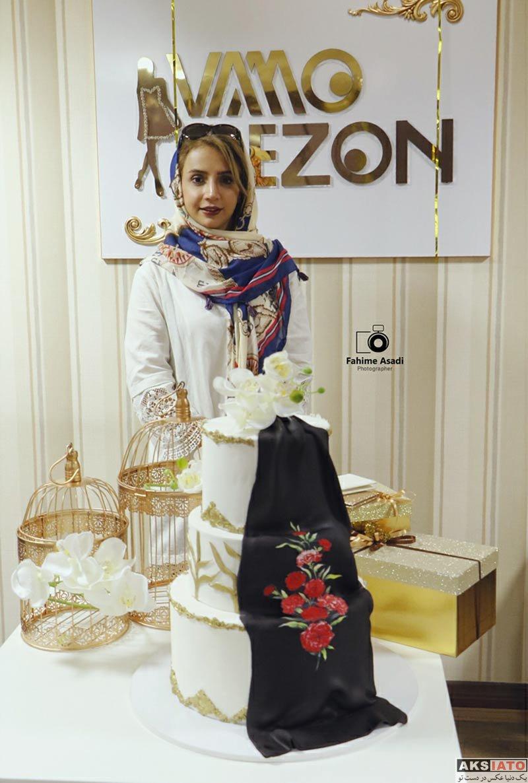 بازیگران بازیگران زن ایرانی  شبنم قلی خانی در مراسم افتتاحیه شعبه جدید مزون وامو