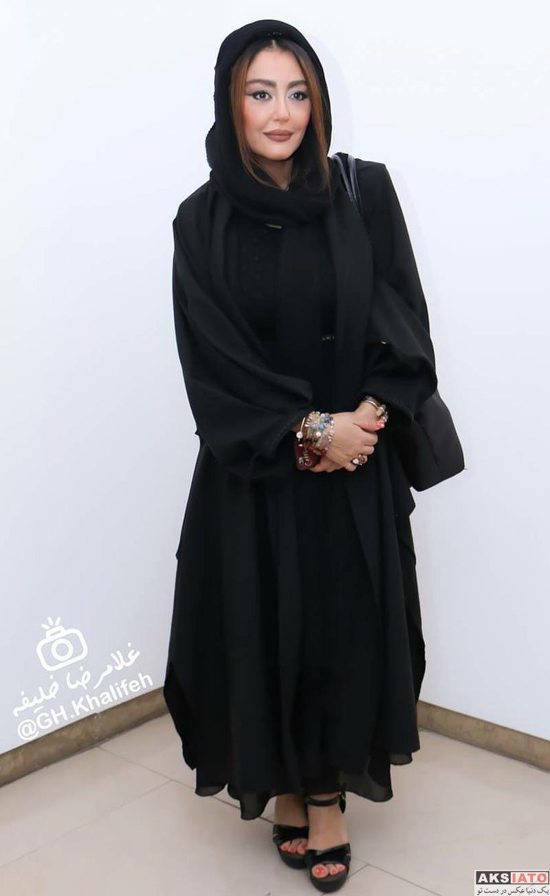 بازیگران بازیگران زن ایرانی  شقایق فراهانی در افتتاحيه نمايشگاه نقاشى آذرخش فراهانى